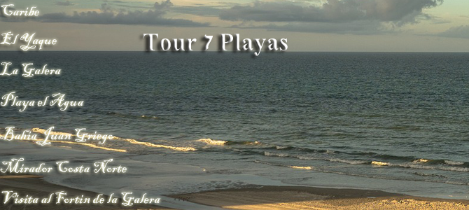 TOUR 7 PLAYAS